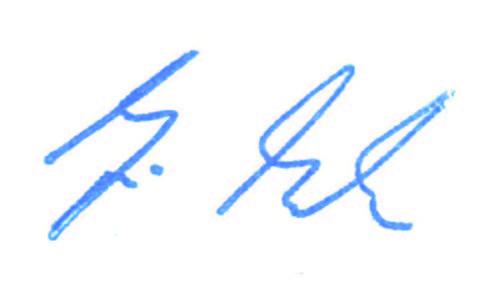 Unterschrift Prof. Dr. Martin